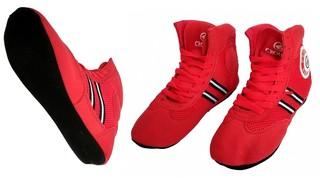 Обувь для самбо Crouse EY-1010 (red)