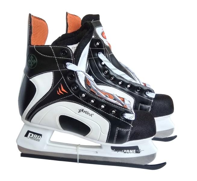 Коньки хоккейные ArtlinA PRO Course (white)