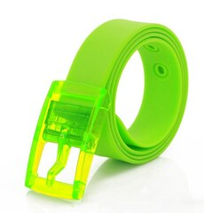 Ремень силиконовый зелёный