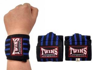 Напульсник гимнастический Twins (синие)