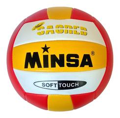 Мяч волейбольный Minsa арт. 5-0066 (red)