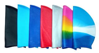 Шапочка для плавания (однотонные и цветные)