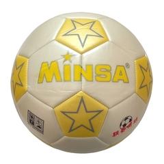 Мяч футбольный Minsa 9001 (yellow)