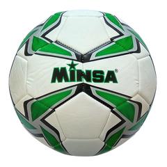Мяч футбольный Minsa 9007 (green)