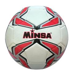 Мяч футбольный Minsa 9007 (red)