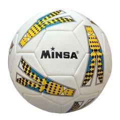 Мяч футбольный Minsa 9014 (yellow)