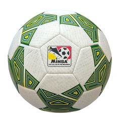 Мяч футбольный Minsa 9046 (green)