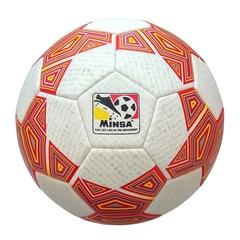 Мяч футбольный Minsa 9046 (red)