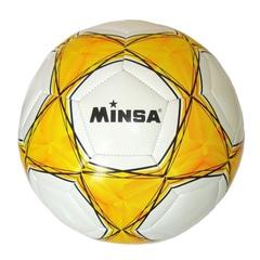 Мяч футбольный Minsa 1010 (yellow)