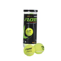 Мячи для большого тенниса FLOTT FTB-0752