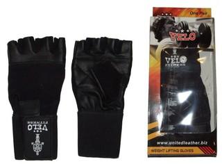 Перчатки атлетические Velo J-S 0048